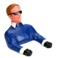 Pilot with Sunglasses and arms 85x83mm